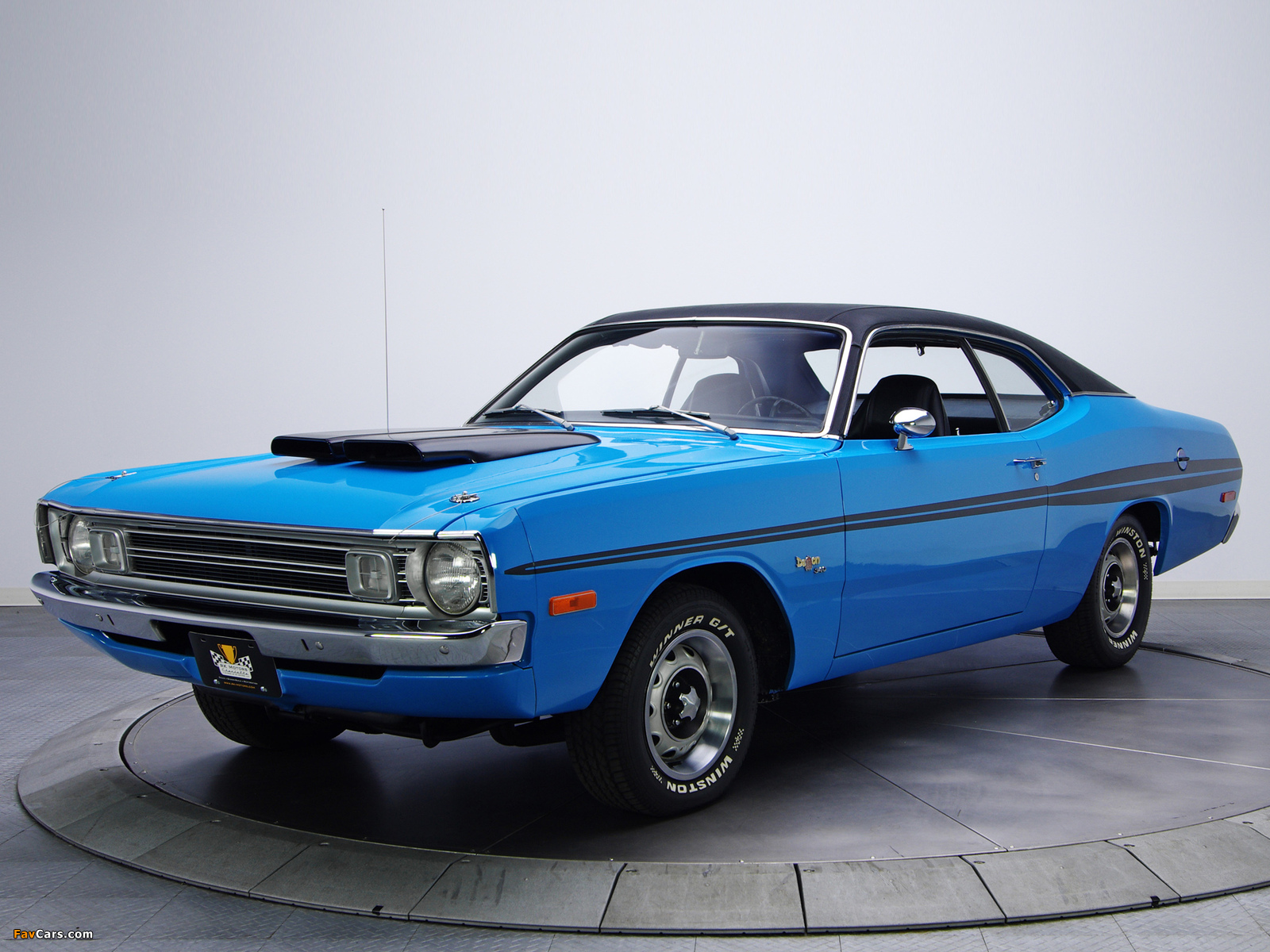 Dodge Dart Demon 340 (LM29) 1972 wallpapers (1600 x 1200)