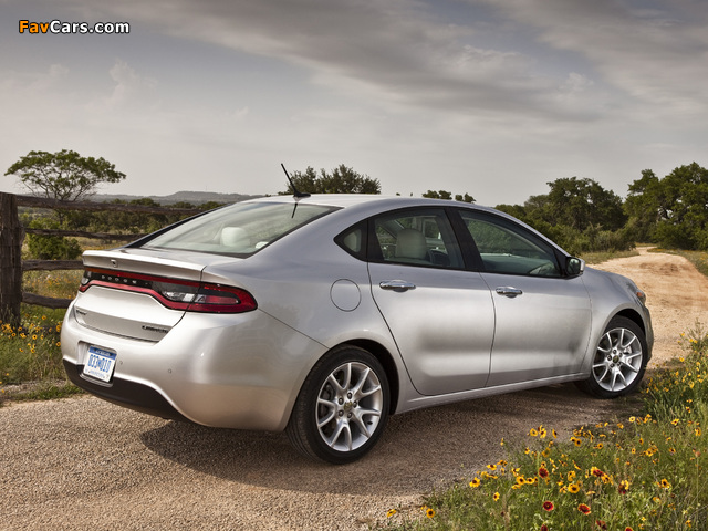 Dodge Dart Limited 2012 wallpapers (640 x 480)