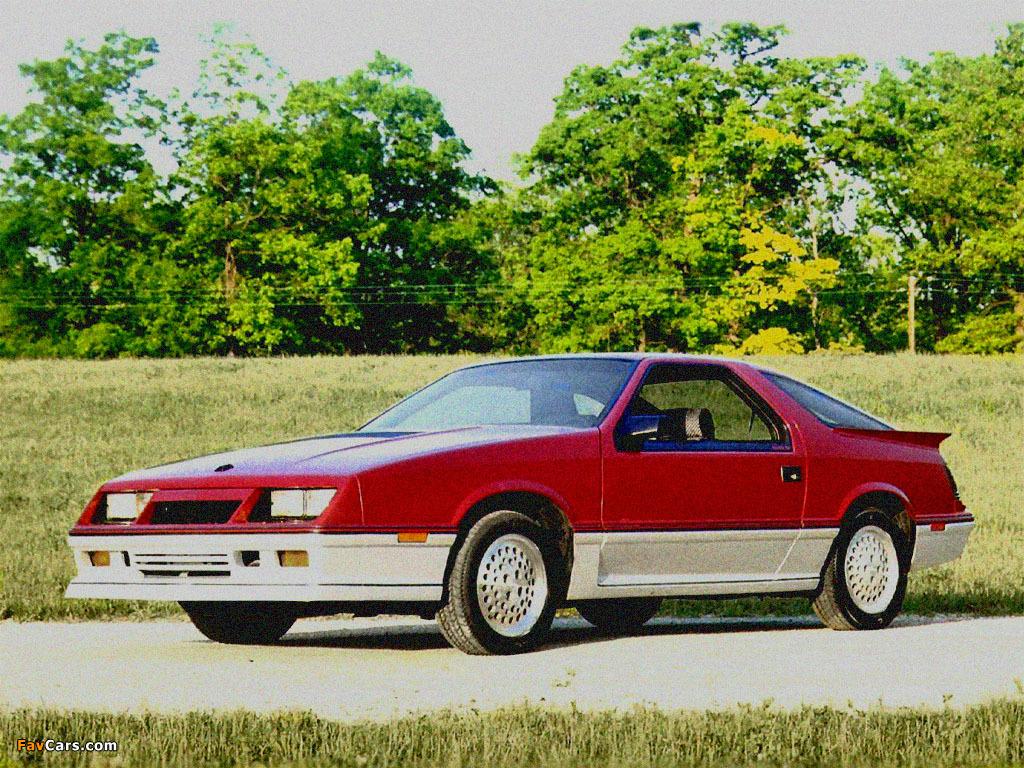 Images of Dodge Daytona Turbo Z 1984–86 (1024 x 768)
