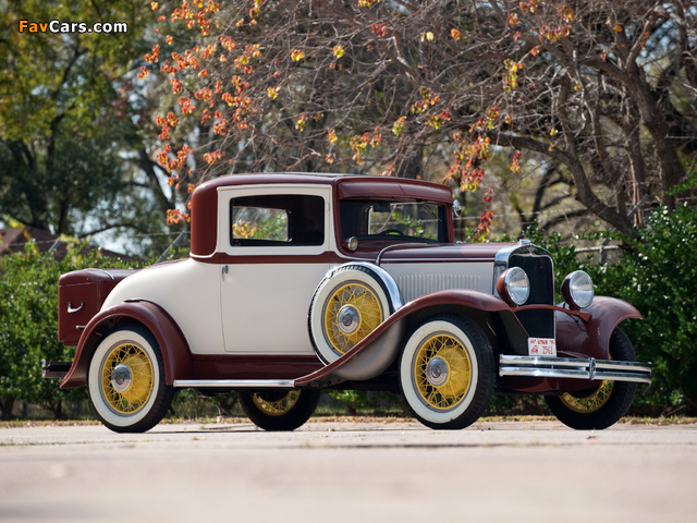 Dodge DD Business Coupe 1930–32 images (640 x 480)