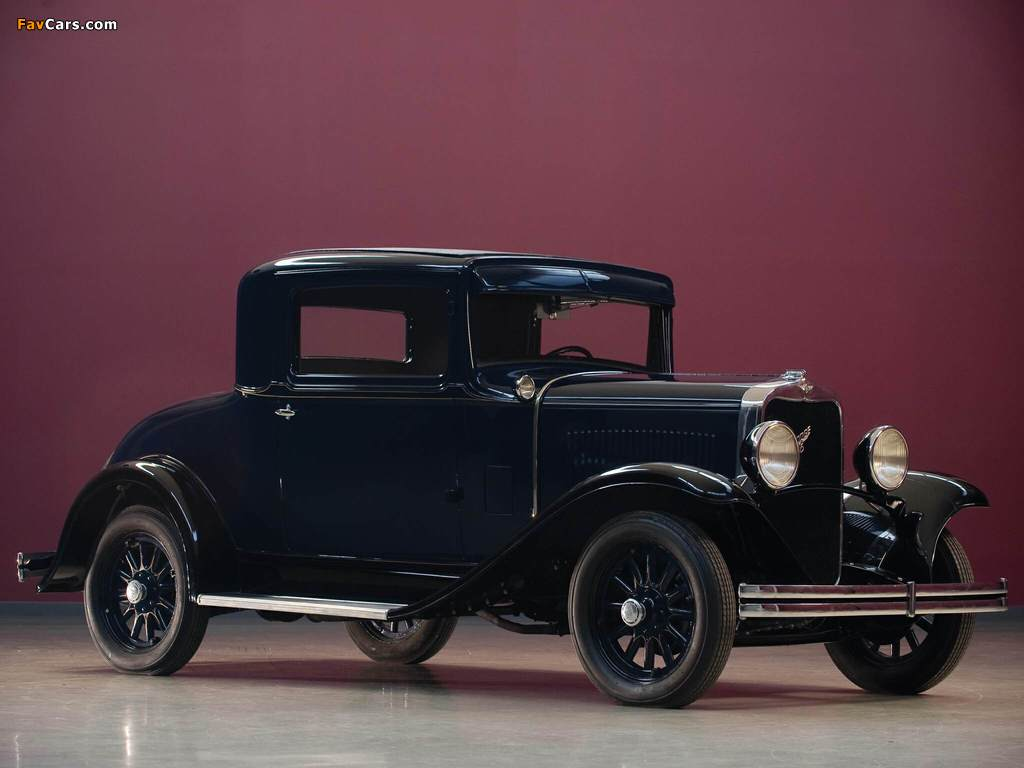 Dodge DD Business Coupe 1930–32 wallpapers (1024 x 768)