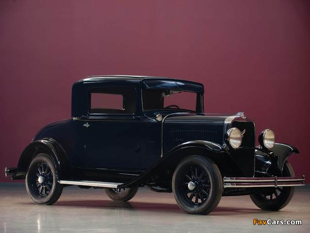Dodge DD Business Coupe 1930–32 wallpapers (640 x 480)