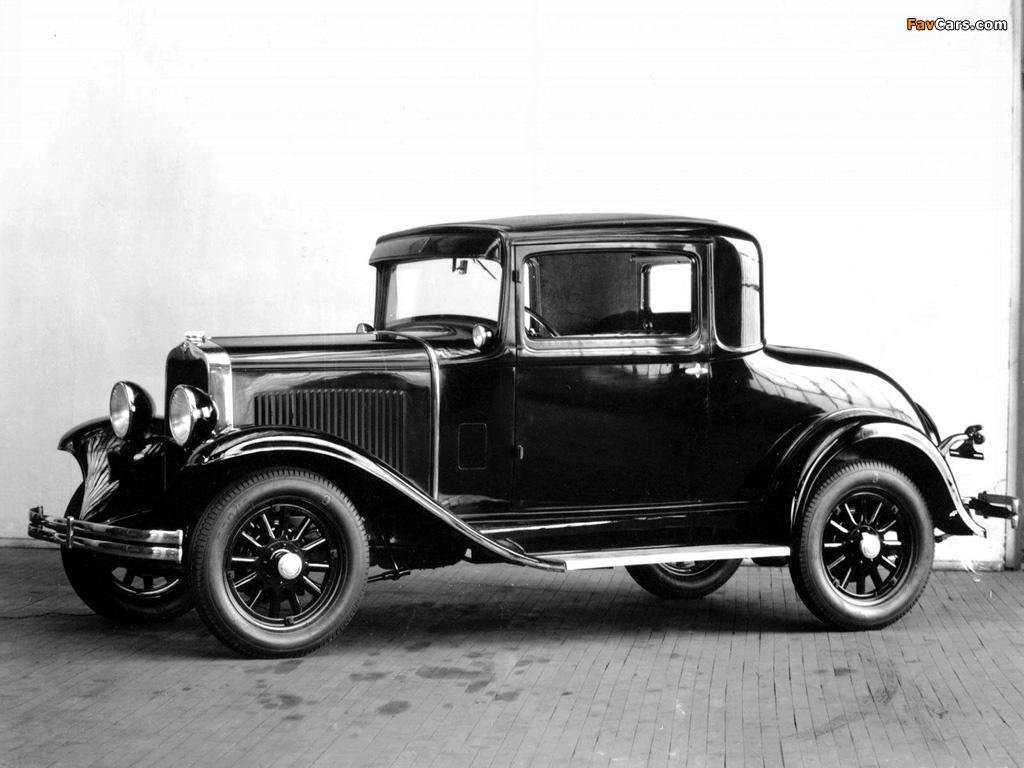 Images of Dodge DD Business Coupe 1930–32 (1024 x 768)