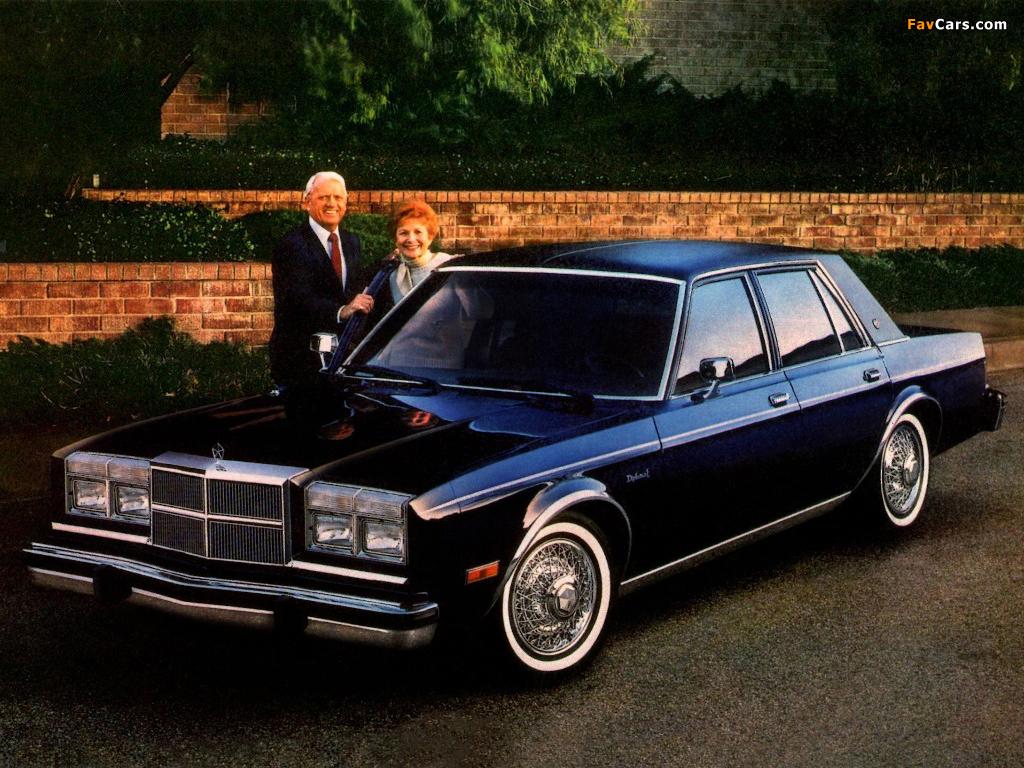 Dodge Diplomat SE Sedan 1985 pictures (1024 x 768)