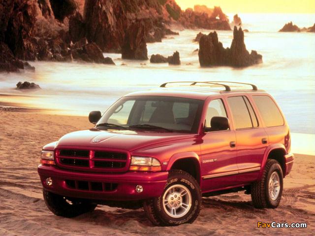 Dodge Durango 1997–2003 photos (640 x 480)
