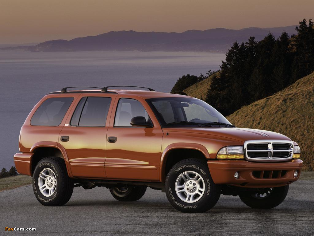 Dodge Durango 1997–2003 pictures (1024 x 768)
