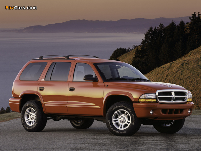 Dodge Durango 1997–2003 pictures (640 x 480)
