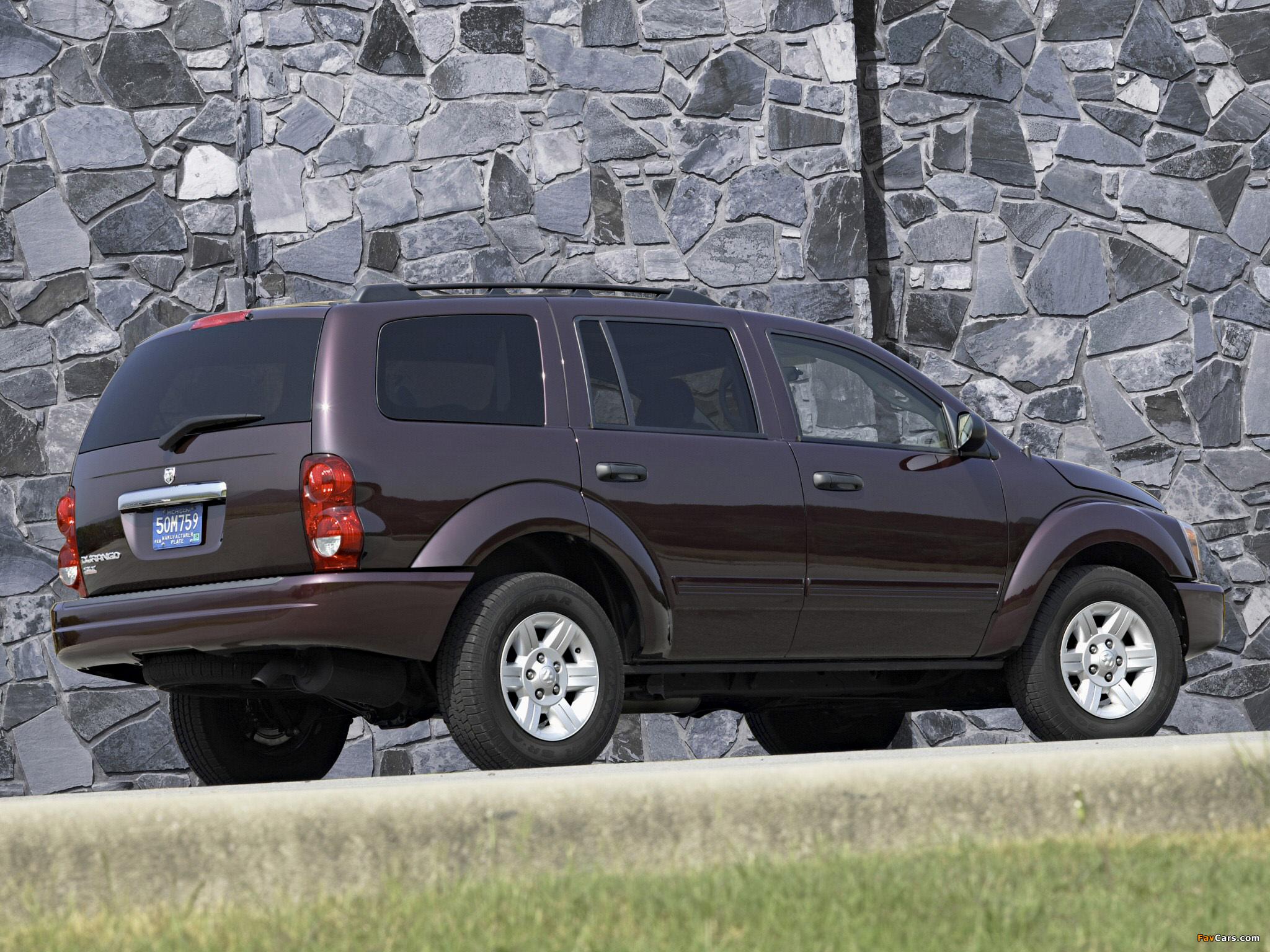 Dodge Durango SLT 2003–06 photos (2048 x 1536)