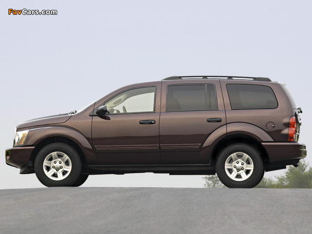 Dodge Durango SLT 2003–06 pictures (640 x 480)