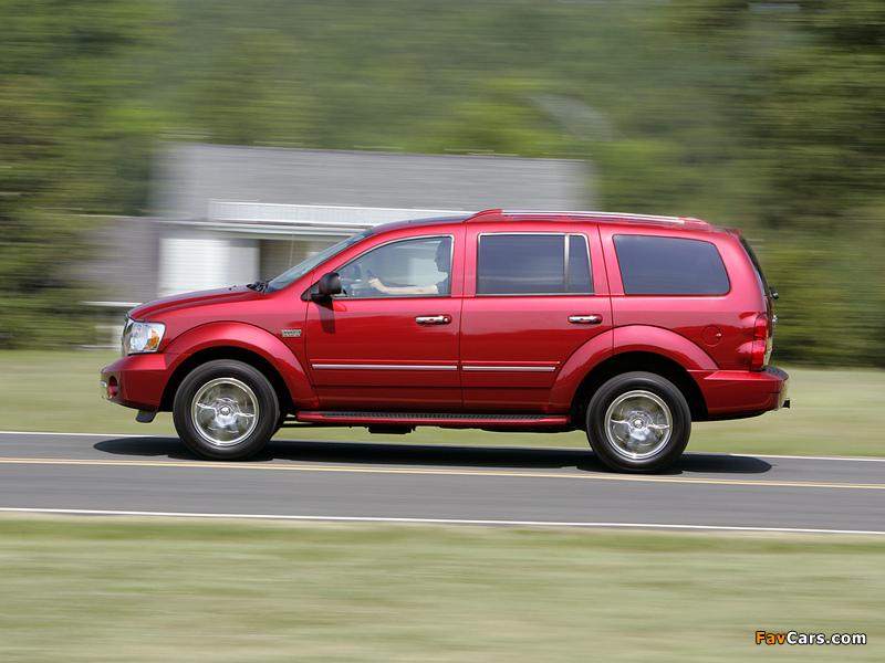 Dodge Durango Hybrid 2008 photos (800 x 600)