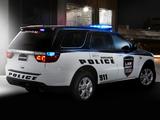 Dodge Durango Police 2012–13 wallpapers