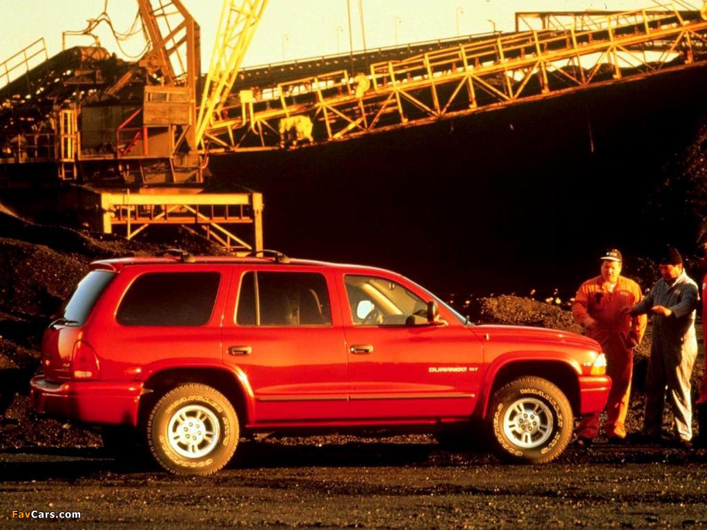 Images of Dodge Durango 1997–2003 (1024 x 768)