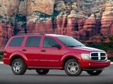 Images of Dodge Durango SLT 2003–06
