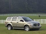 Images of Dodge Durango Limited 2003–06