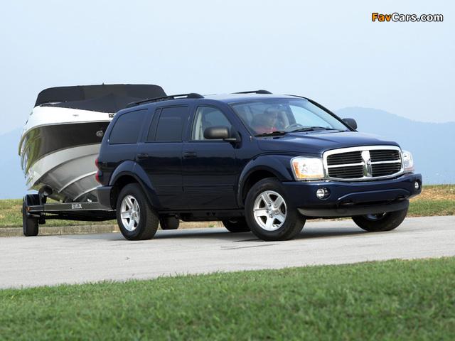 Images of Dodge Durango SLT 2003–06 (640 x 480)