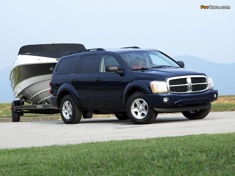 Images of Dodge Durango SLT 2003–06 (800 x 600)