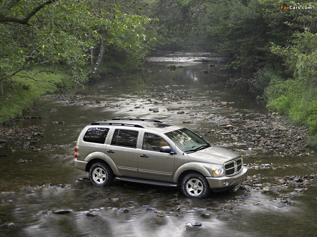 Photos of Dodge Durango Limited 2003–06 (1024 x 768)