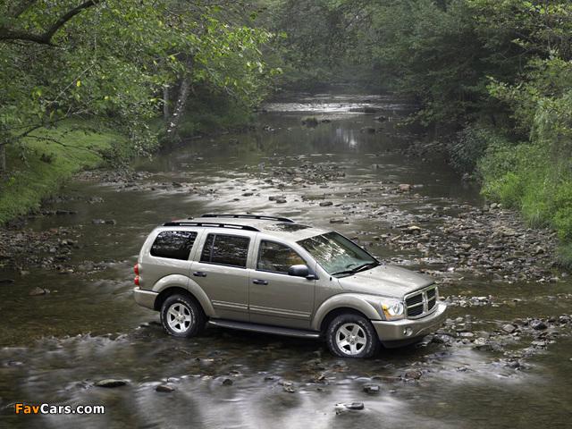 Photos of Dodge Durango Limited 2003–06 (640 x 480)