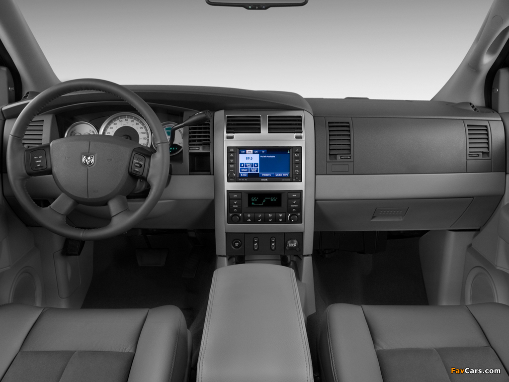 Photos of Dodge Durango Hybrid 2008 (1024 x 768)