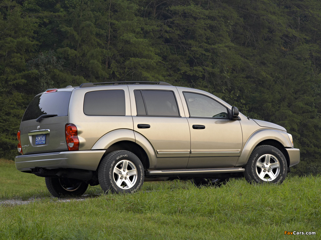 Pictures of Dodge Durango Limited 2003–06 (1024 x 768)