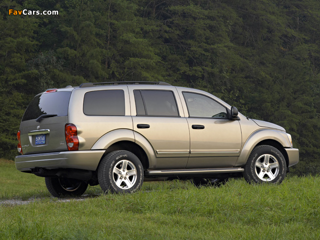 Pictures of Dodge Durango Limited 2003–06 (640 x 480)