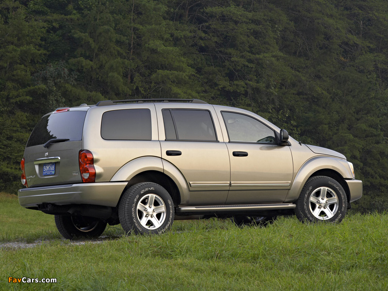 Pictures of Dodge Durango Limited 2003–06 (800 x 600)