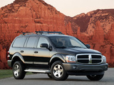 Dodge Durango SXT 2003–06 wallpapers