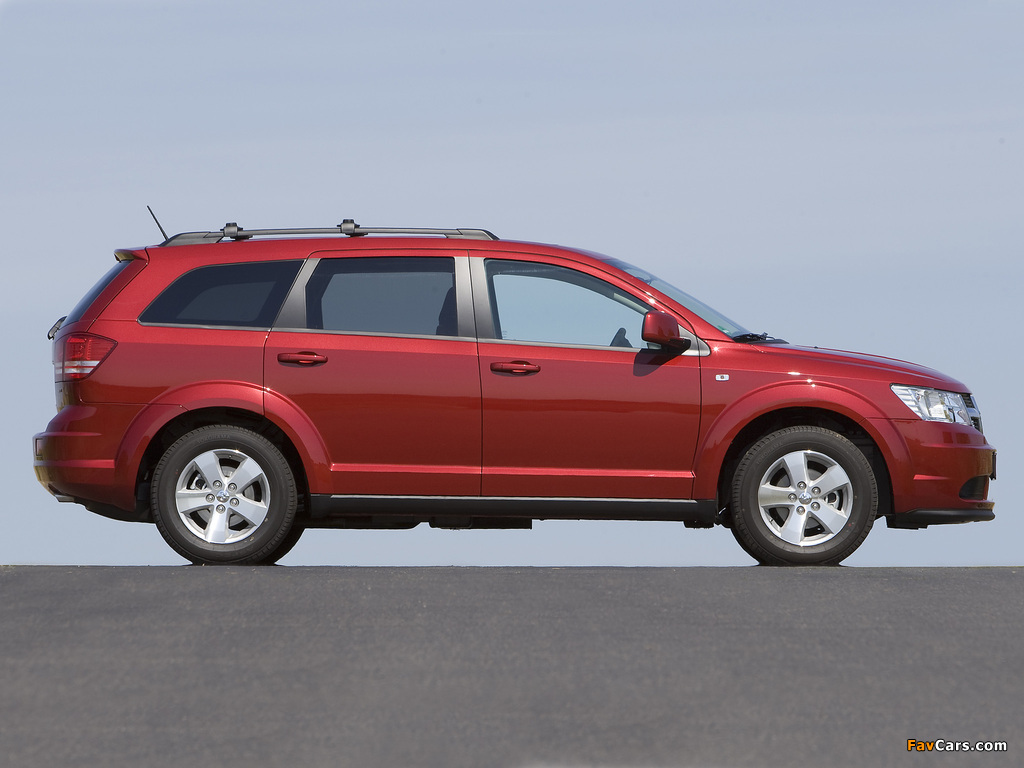 Dodge Journey US-spec 2008–10 pictures (1024 x 768)