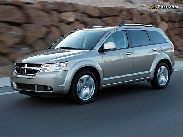 Dodge Journey 2008–10 pictures (640 x 480)