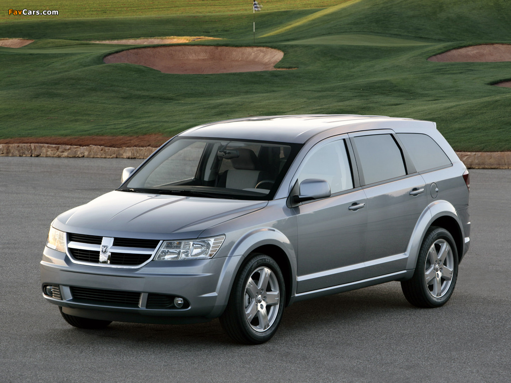 Dodge Journey 2008–10 wallpapers (1024 x 768)