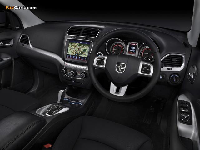 Dodge Journey R/T ZA-spec 2012 photos (640 x 480)