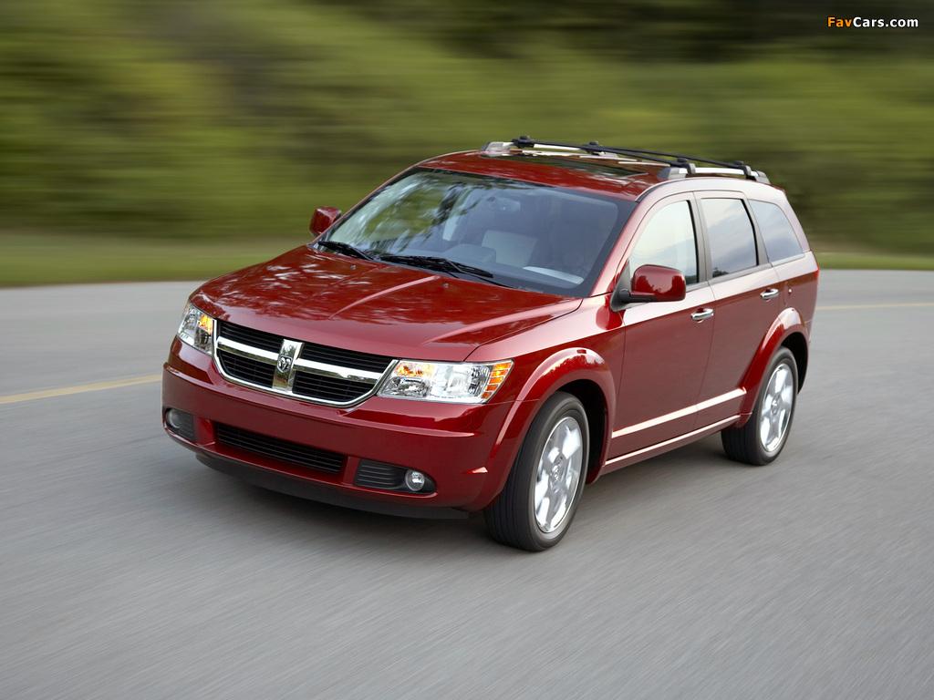 Photos of Dodge Journey 2008–10 (1024 x 768)