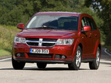 Photos of Dodge Journey UK-spec 2008–10