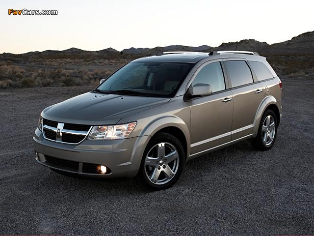Photos of Dodge Journey 2008–10 (640 x 480)