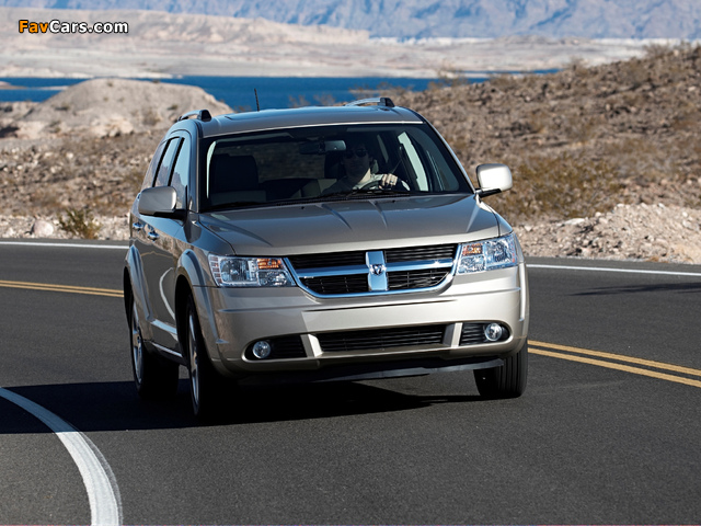 Photos of Dodge Journey 2008–10 (640 x 480)