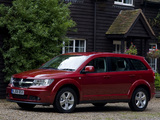 Dodge Journey UK-spec 2008–10 wallpapers