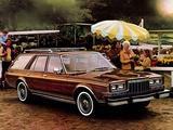 Dodge LeBaron Salon Woodgrain Wagon 1981 photos