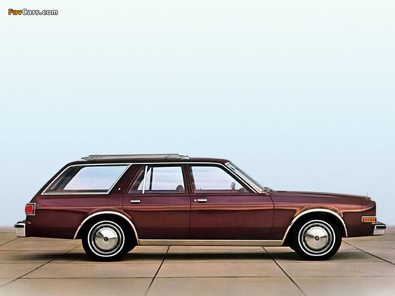 Dodge LeBaron Salon Wagon 1981 pictures (800 x 600)
