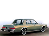 Dodge LeBaron Salon 4-door Sedan 1981 wallpapers