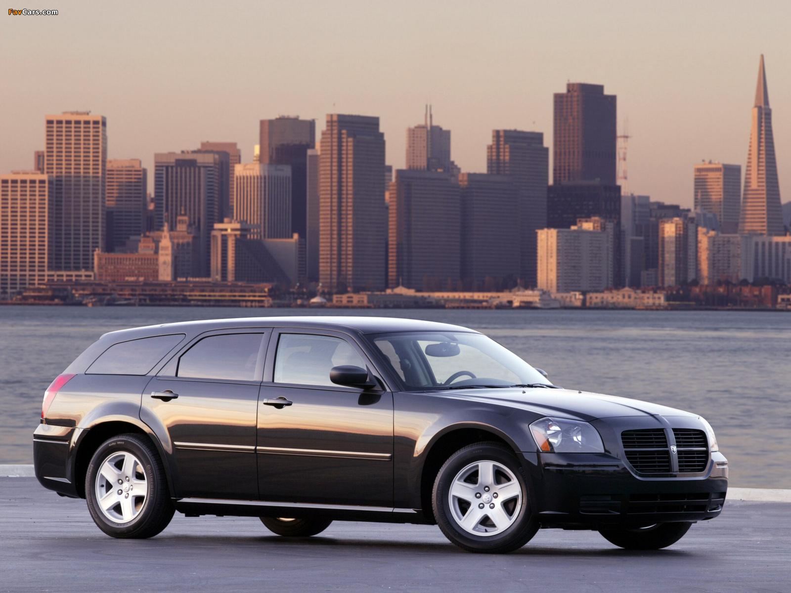 Dodge Magnum RT 2005–07 pictures (1600 x 1200)