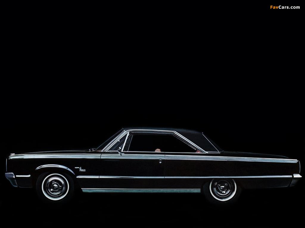 Dodge Monaco 2-door Hardtop 1965 pictures (1024 x 768)