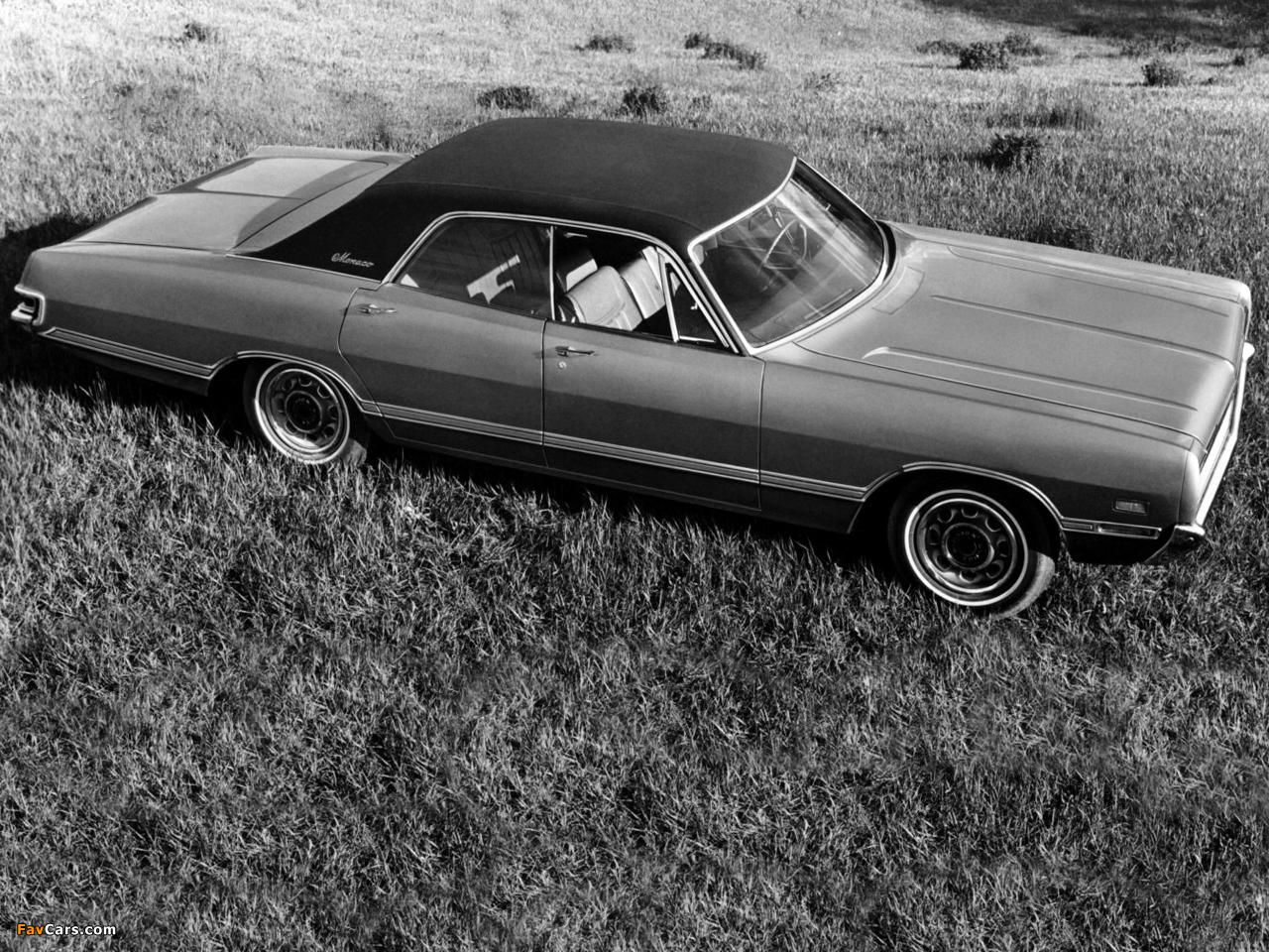 Dodge Monaco 4-door Hardtop 1969 images (1280 x 960)