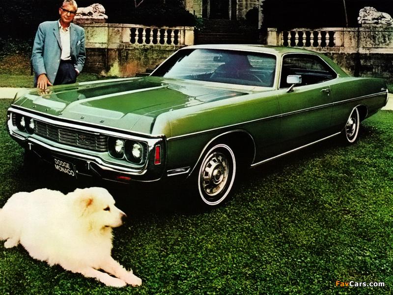 Dodge Monaco 2-door Hardtop 1971 images (800 x 600)
