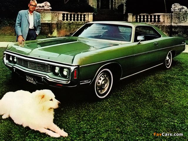 Dodge Monaco 2-door Hardtop 1971 images (640 x 480)