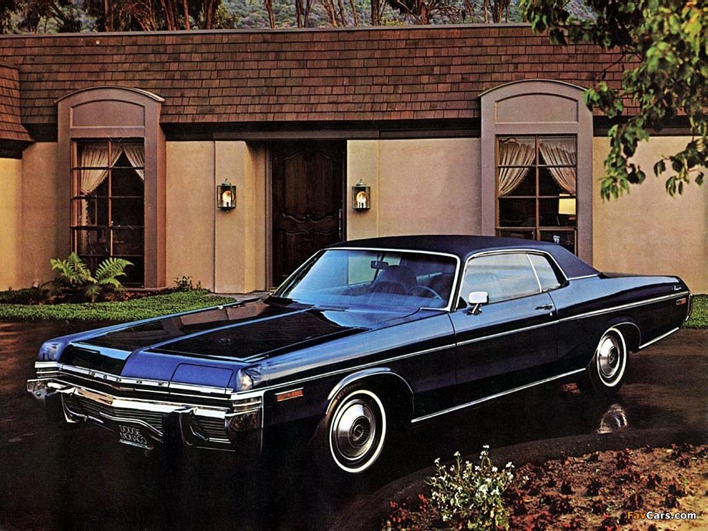 Dodge Monaco 2-door Hardtop 1973 pictures (1024 x 768)