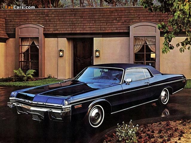 Dodge Monaco 2-door Hardtop 1973 pictures (640 x 480)