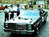 Dodge Monaco Police Sedan 1977 photos