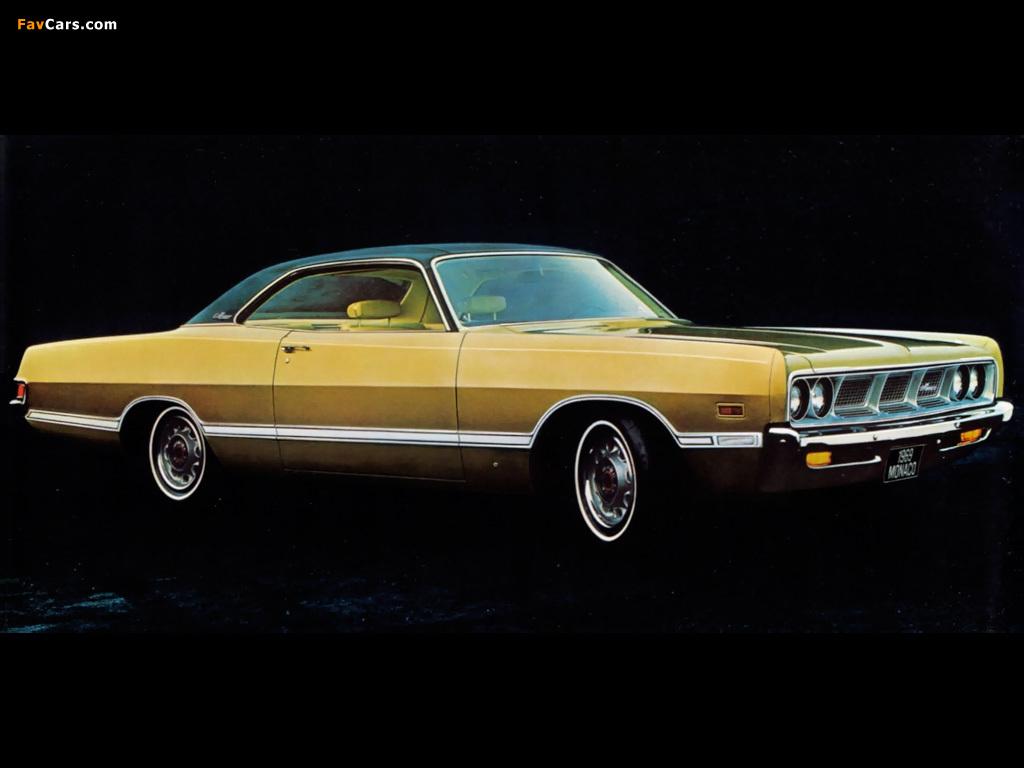 Images of Dodge Monaco 2-door Hardtop 1969 (1024 x 768)