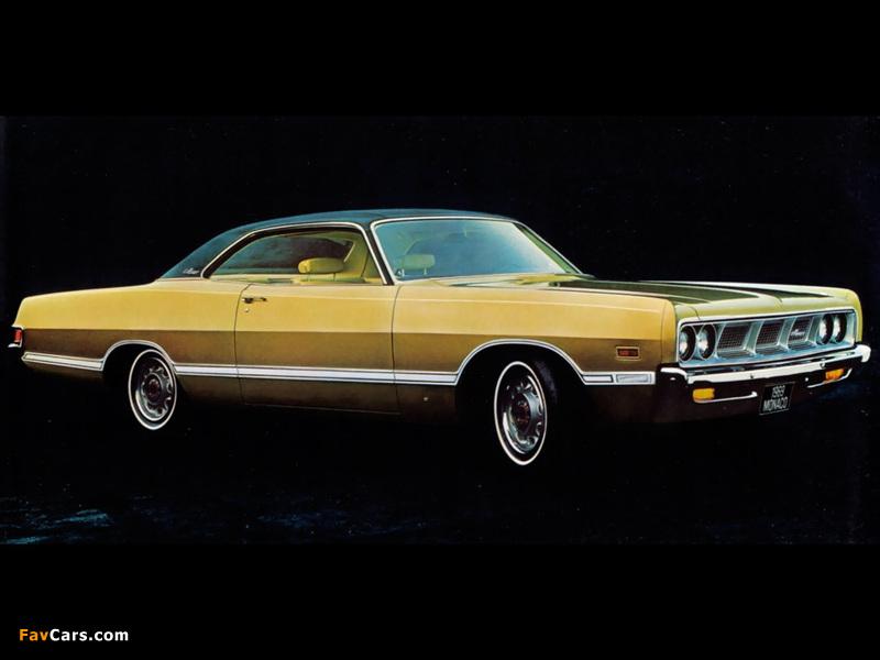 Images of Dodge Monaco 2-door Hardtop 1969 (800 x 600)