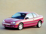 Dodge Neon Sport Coupe 1996–99 images